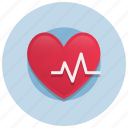beat, diagnostic, health, heart, medicine, rate icon