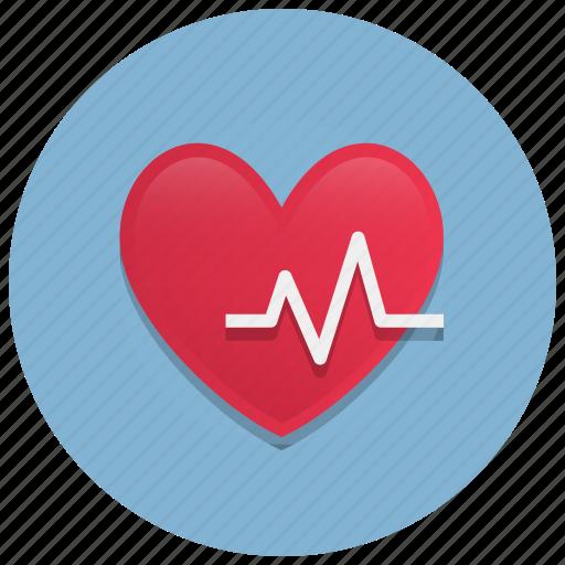 beat, diagnostic, health, heart, medicine, rate icon