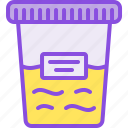 analyzes, container, medical, medicine, pharmacy, test, urine icon