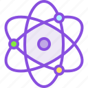 atom, element, medical, medicine, molecule, nuclear, pharmacy icon