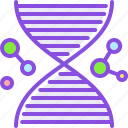 biology, dna, gene, genetic, medical, medicine, pharmacy icon
