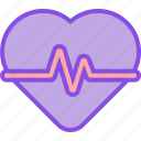 beat, cardio, health, heart, medical, medicine, pulse icon