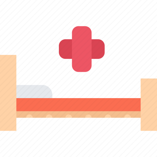 bed, clinic, doctor, hospital, treatment icon