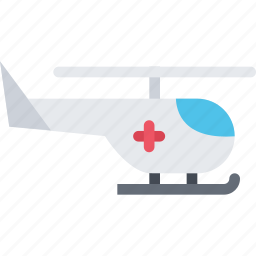 clinic, doctor, helicopter, hospital, treatment icon