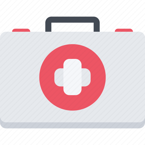 clinic, doctor, hospital, suitcase, treatment icon
