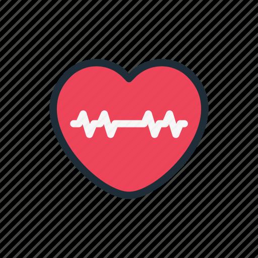 arrhythmia, cardiac, cardio, disease, heart, medicine, pulse icon