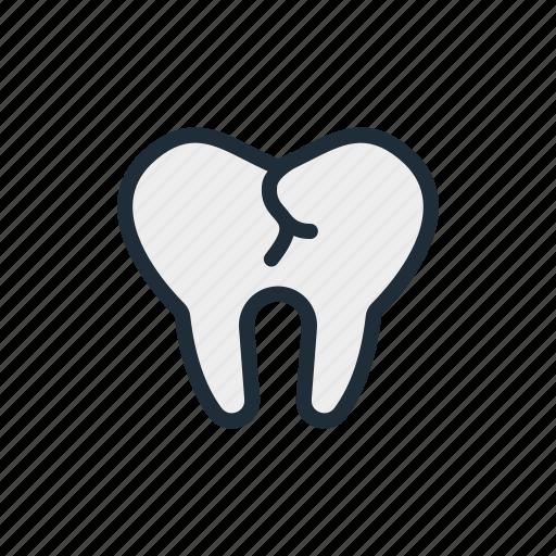 caries, dendist, dental, disease, mouth, teeth, tooth icon