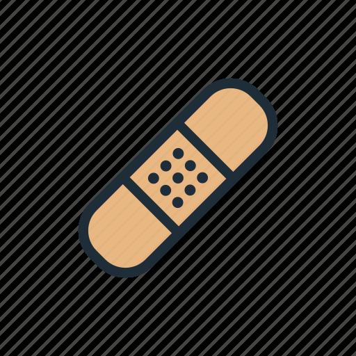 bandage, health, hospital, injury, medicine, treatment icon