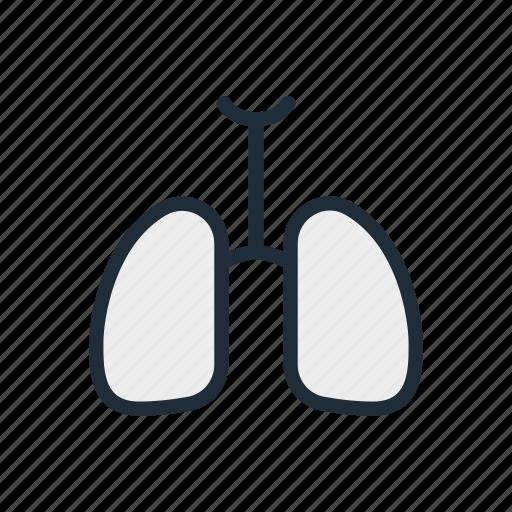 air, breathe, health, life, lung, lungs, medicine icon