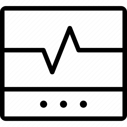 cardiogram, doctor, medicine, treatment icon