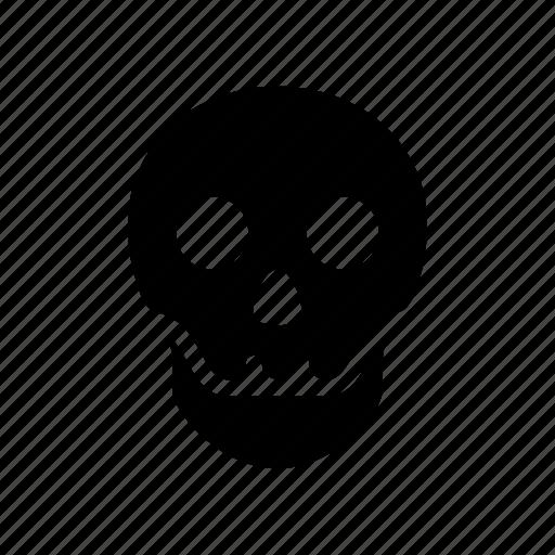 bone, bones, dead, death, halloween, skeleton, skull icon