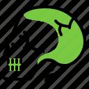 head, medicine, skull, warning icon