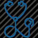 clinic, doctor, hospital, medicine, nurse, sick, stethoscope icon
