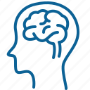 brain, medicine, mind, nerve, neurologist, think icon