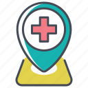 health care, medical, medical advice, medical help, medical rescue, medical scheduling, medical supplies icon
