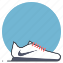 footwear, nike, runner, shoes, sport, sprint, workout icon