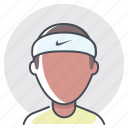 athlete, fitness, man, race, runner, sports, workout icon