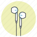 earphone, headphone, music, running, sports, workout icon