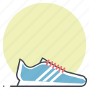 fitness, footwear, runner, running, shoes, sports, sprint icon
