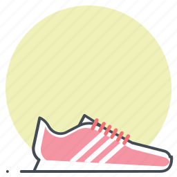 footwear, race, running, shoes, sports, sprint, workout icon