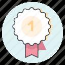 award, badhe, best, first, race, sprint, winner icon