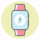 fitness, marathon, race, running, sport, tracking, workout icon