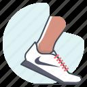 race, running, sports, sprint, footwear, nike, shoes