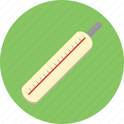 health, medicine, temperature, thermometer icon
