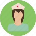 doctor, health, medicine, nurse, person, woman icon