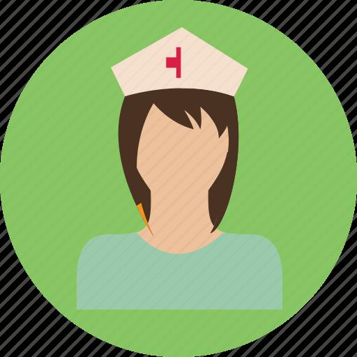 doctor, health, medicine, nurse, person, woman icon
