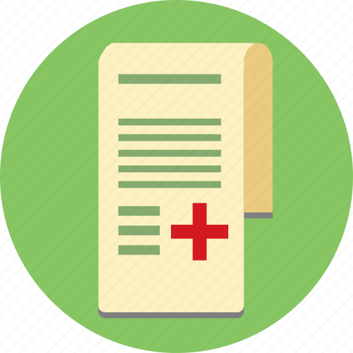 health, medicine, report icon