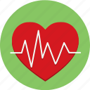 health, heart, heartbeat, medicine icon