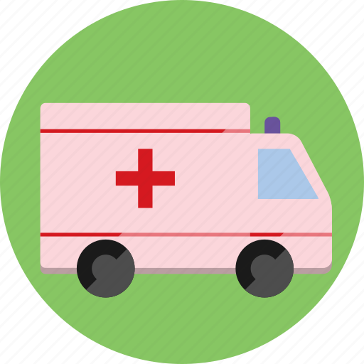 ambulance, car, emergency, health, medicine, truck icon
