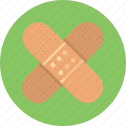 aid, band, bandaid, health, medicine, plaster icon