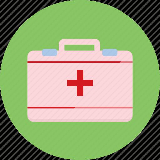 box, first aid, health, medicine icon