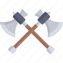 axe, axewood, construction, constructiontools, cutting, equipment icon