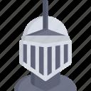 armor, helmet, medieval, miscellaneous, protection, warrior, weapon icon