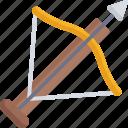 arrow, medieval, miscellaneous, weapons icon