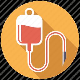 bag, blood, drip, healthcare, infusion, medical, plasma icon