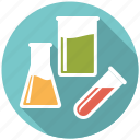 beaker, flask, glassware, healthcare, laboratory, medical, test tube icon