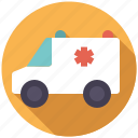 ambulance, car, emergency, healthcare, medical, van, vehicle icon