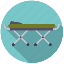 ambulance, bed, healthcare, medical, stretcher icon