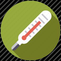 equipment, fever, healthcare, medical, temperature, thermometer icon