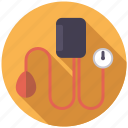 blood pressure, equipment, healthcare, medical, meter, monitor icon