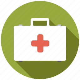 emergency, equipment, first aid, healthcare, medical, suitcase icon