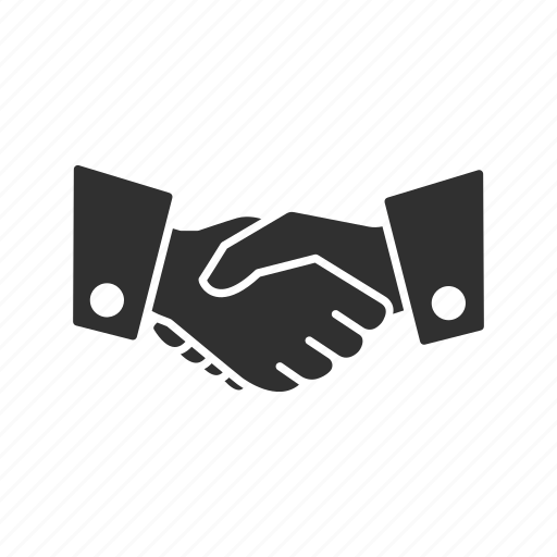 agreement, business, handshake, introduction icon