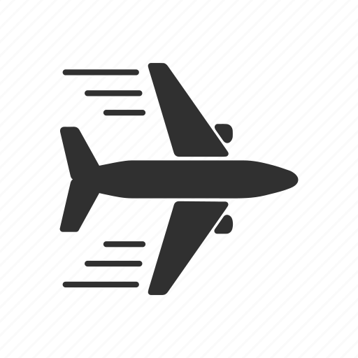 airplane, jet, plane, travel icon