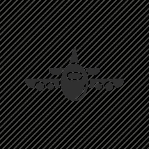 airplane, airport, jet, transportation icon
