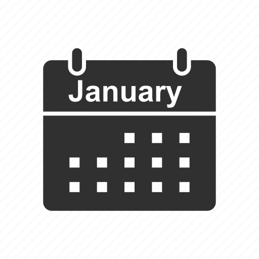 calendar, month, new year, schedule icon