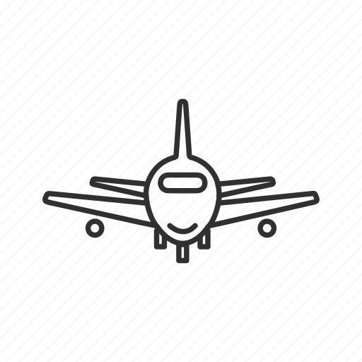 airplane, airport, commercial jet, commercial plane, jet plane, landing plane, plane icon